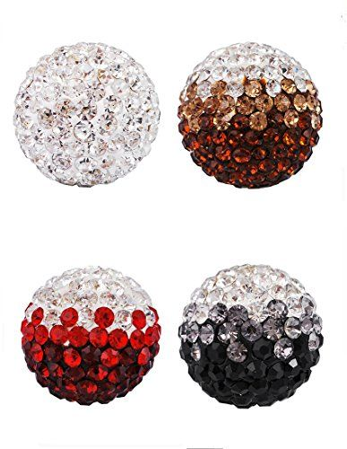 Pack of 5 Pieces EUDORA Harmony Balls Angel Caller Chime Ball for 16mm Locket Pendants. You'll get 5 Pieces of size 16mm chime balls. Designed for women,best match for 16mm openable locket pendant. Charming mix color zircon ball. A Wonderful Gift for Pregnancy,Baby Shower,Church,Baptism,Charity and etc. Ship Via USPS,Takes About 7-14 Business Days.