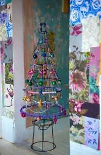 Lampshade Christmas Tree I Like The Idea But Would Decorate It Totally Diffe