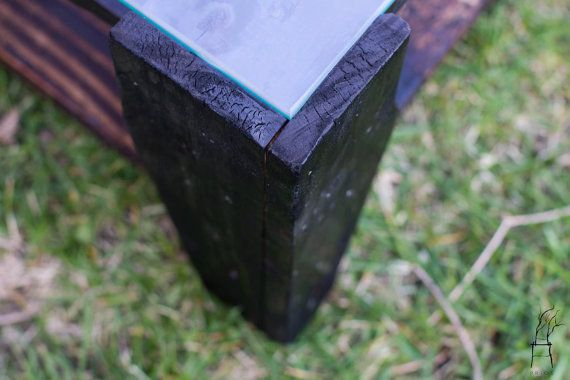 Recycled Pallet Wood Coffee Table Industrial Handmade item ...