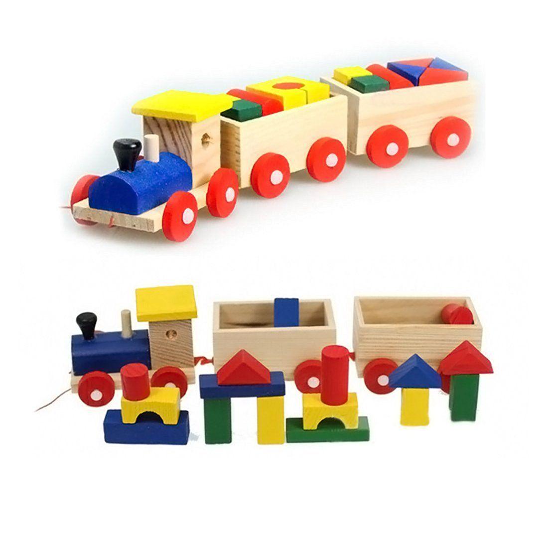 finer shop tres seccin a lo largo traccin trenes con bloques construccin para nios beb juguetes