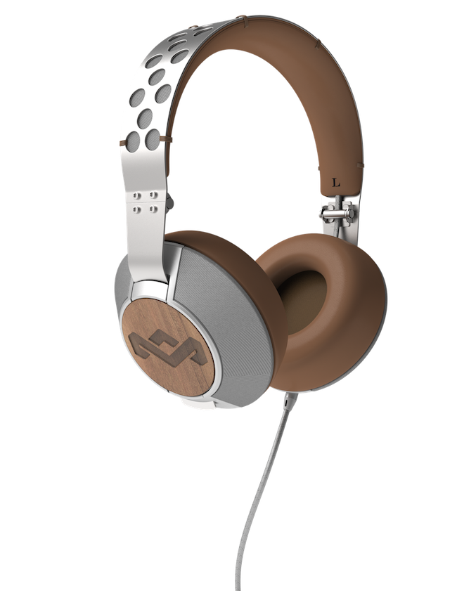 Luxurious And Environmentally Friendly House Of Marley Headphones