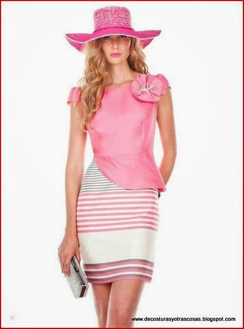 Vestido muy femenino que estiliza la figura | Moda y patrones ...