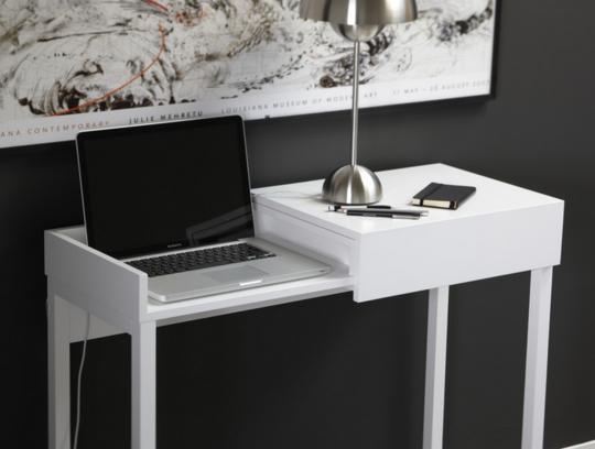 Les 25 meilleures id es concernant bureau d 39 ordinateur for Meuble bureau petit espace