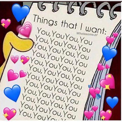 Pin By Ramiro Coronel On Memes Cute Love Memes Wholesome Memes Crush Memes