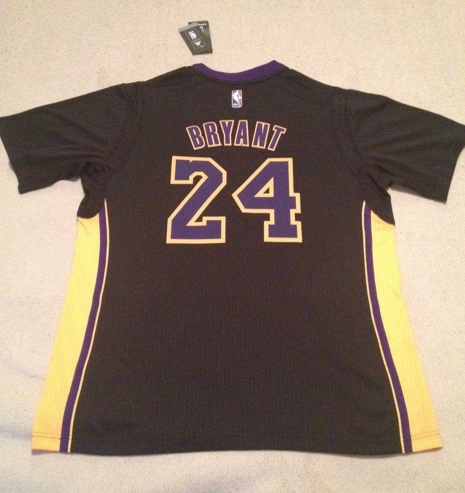 127e164f4 Adidas Kobe Bryant Lakers Hollywood Nights Swingman Jersey Size XL 44 NWT  FTB AD  adidas