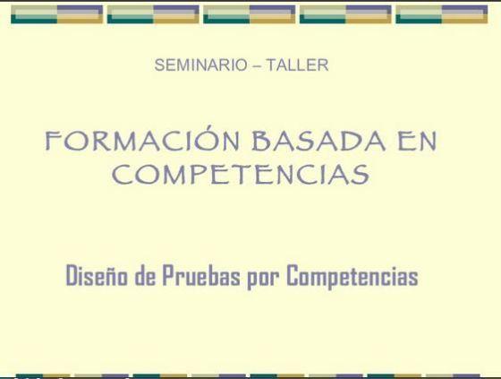 DiseñoPruebasBasadasCompetencias-Presentación-BlogGesvin