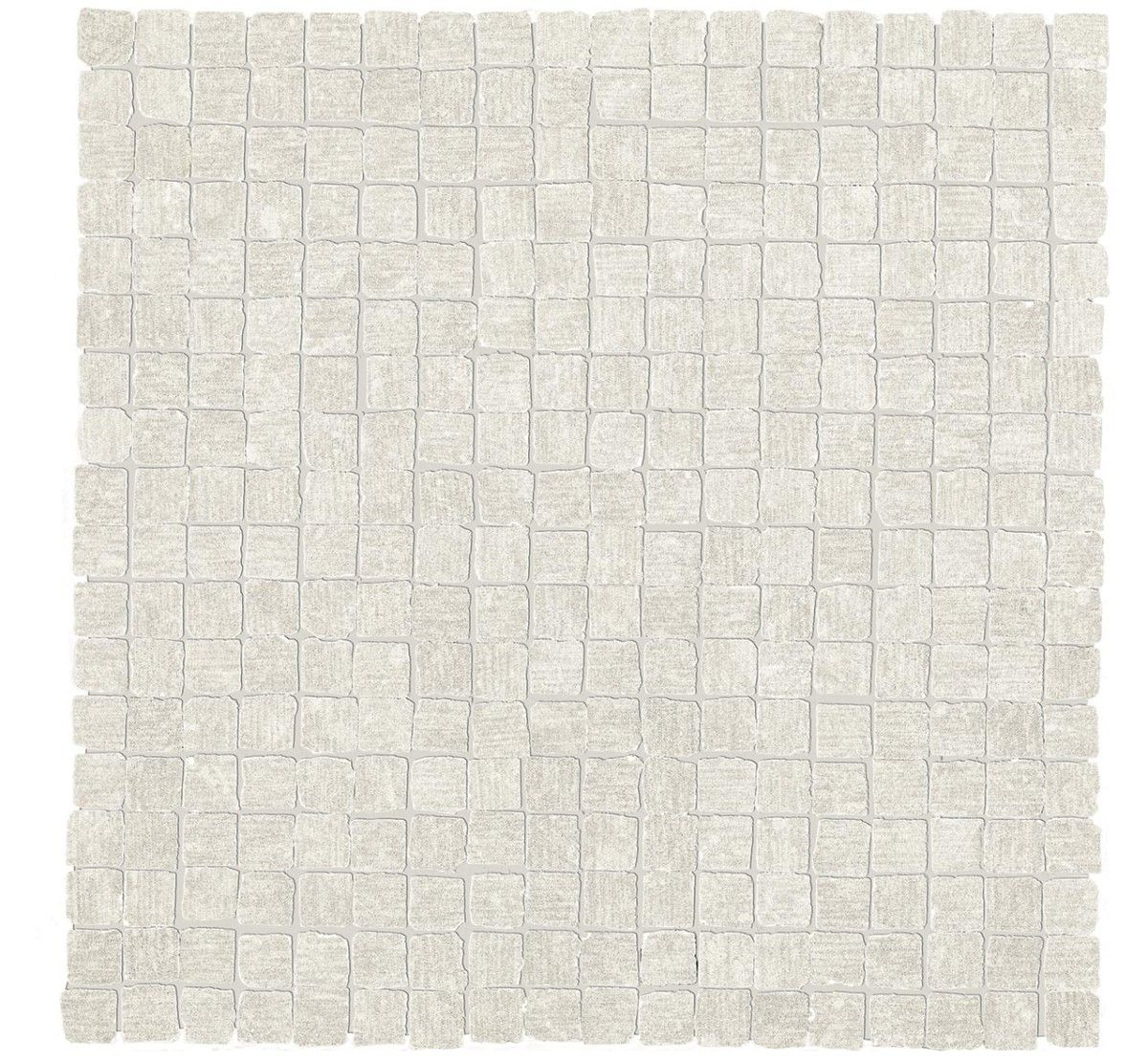 #MORE #Polished #Rectified 5/8-inch #Mosaic in #Bianco from #MidAmericaTile