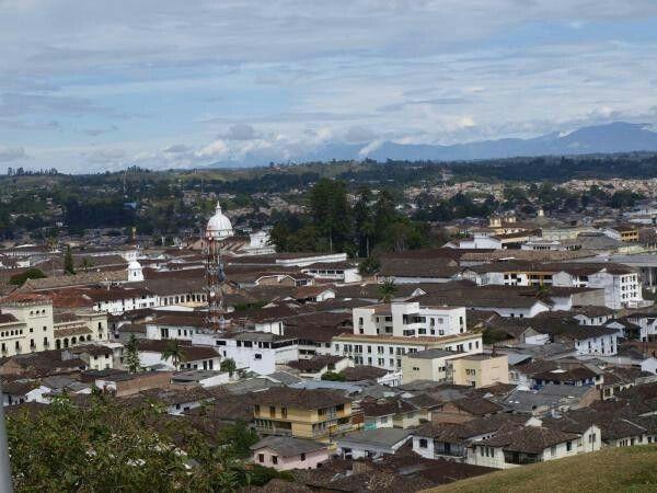 Panorama de la ciudad blanca de Popayán en el Cauca
