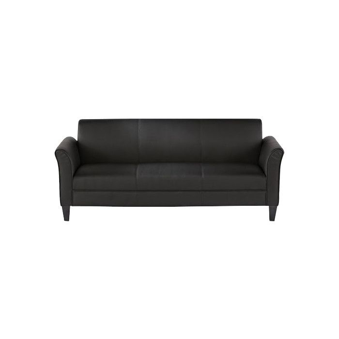Alera Leather Sofa U0026 Reviews | Wayfair