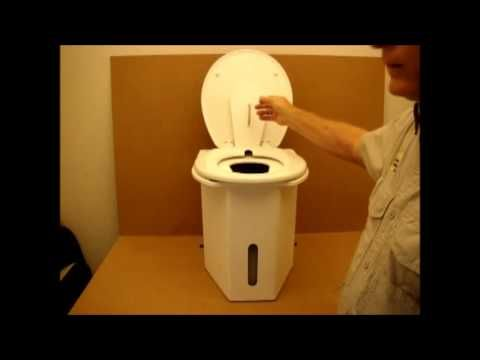 A Tour of the C Head - YouTube C-Head portable composting toilet ...