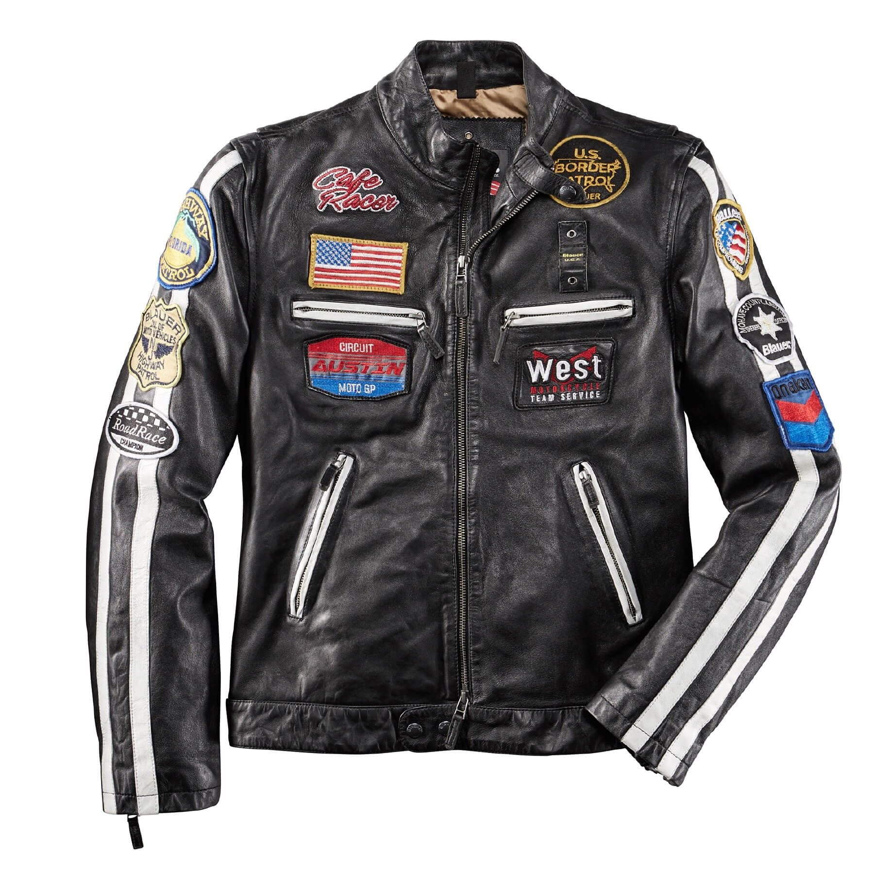 Blauer USA Lederjacke American Rider Blauer USA in 2019