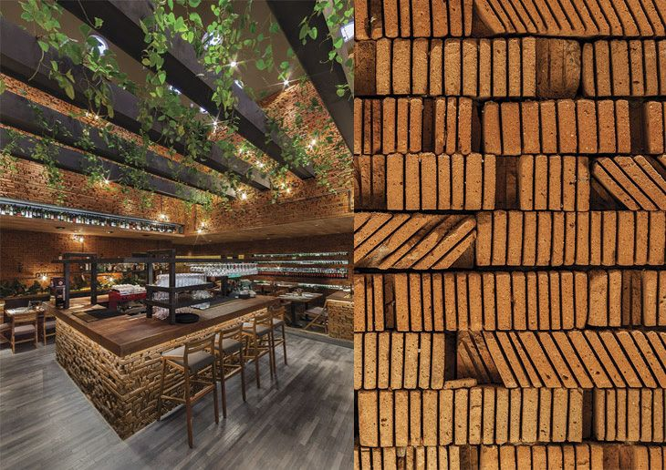 cherem architects designed interior spaces of the 50 friends restaurant difficulty with this interior space was accessing natural light so architects - Light Hardwood Restaurant Decoration