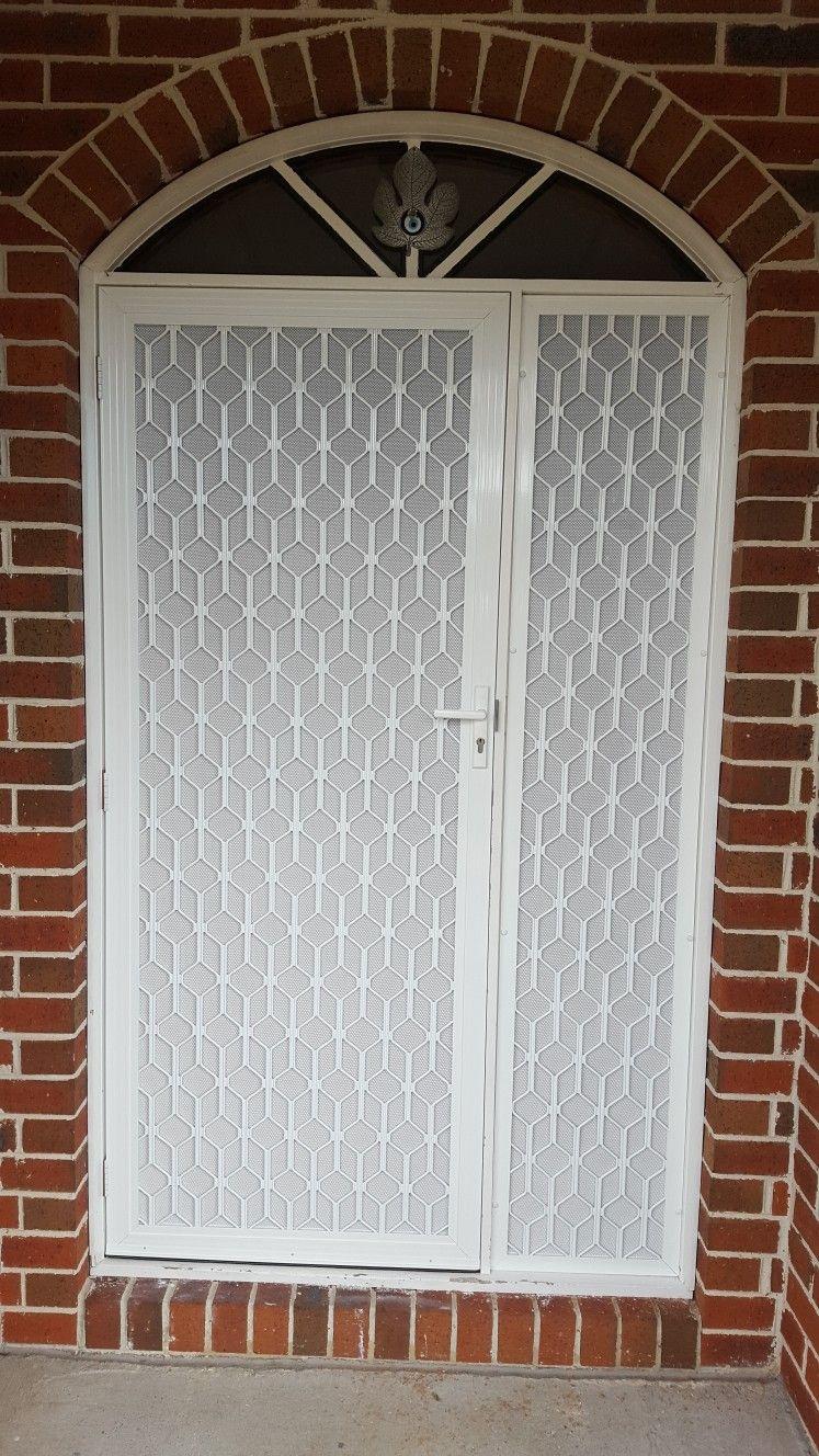 Security Aluminium Door Decorative Grill And Small Site Www