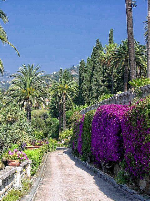Gardens By Maria: Villa Maria Serena Gardens - Menton, France