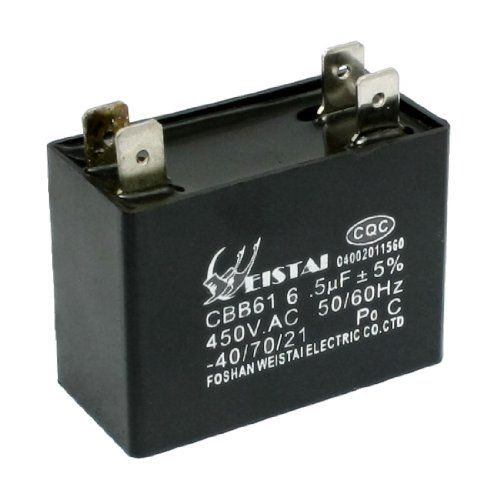 Cbb61 6 5uf 50 60hz Dip 4 Pins Motor Run Capacitor Ac 450v