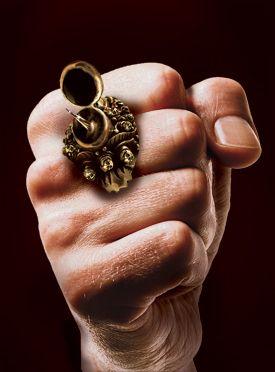 Steampunk Poison Ring