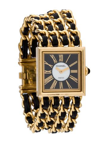 7a393d42be6 Chanel Mademoiselle Watch