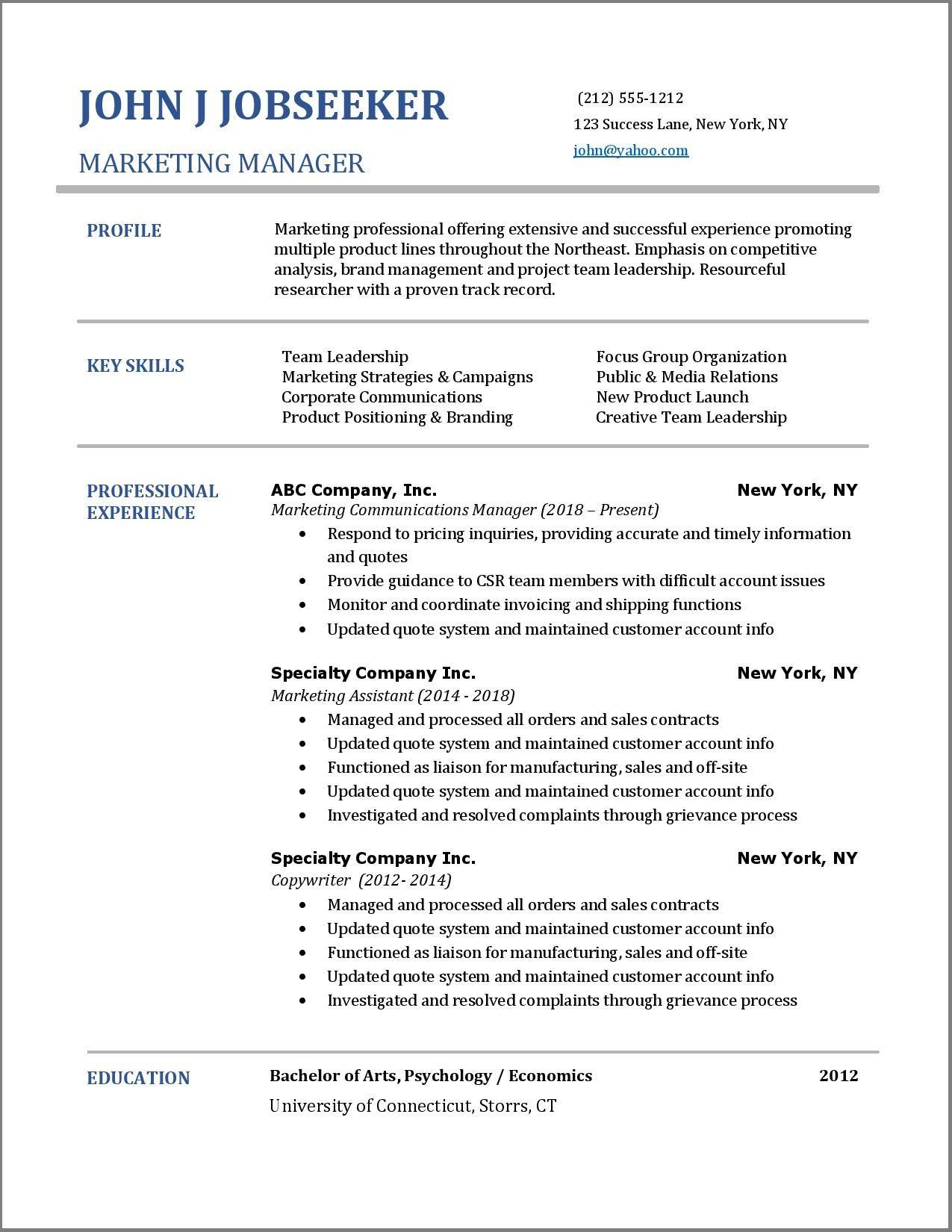 Cali Resume Resume Examples Resume Skills List Resume Skills
