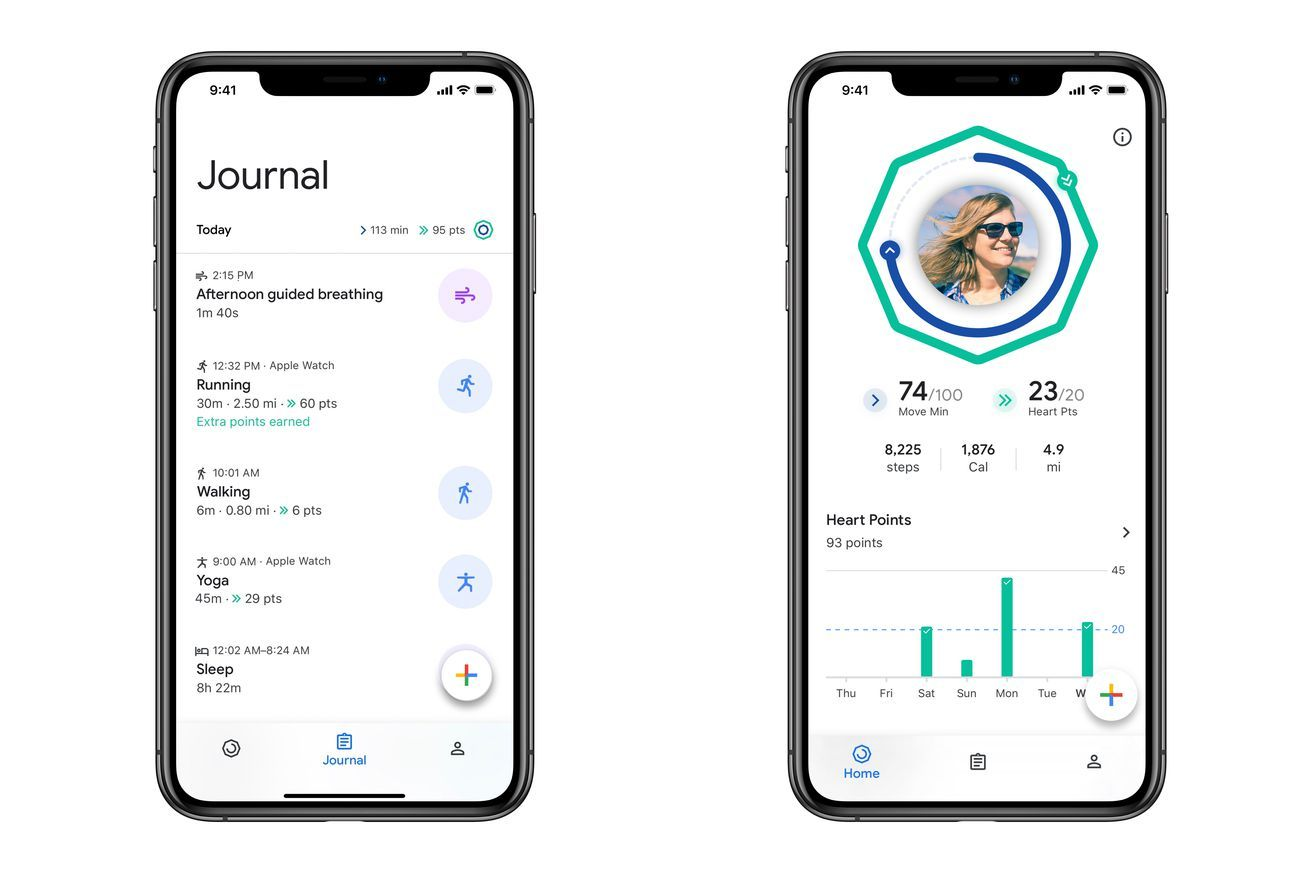 Google brings its redesigned fitness app to iOS Google