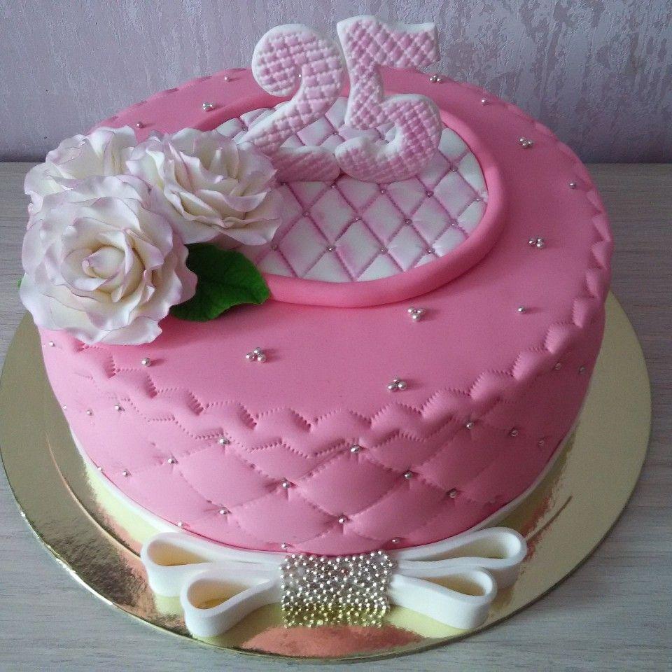 Торт ручной работы на день рождения девушке девушки на ночь работа