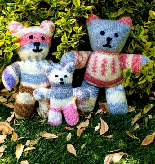 Vintage Teddy Bear Knitting Patterns | Teddy bear knitting ...