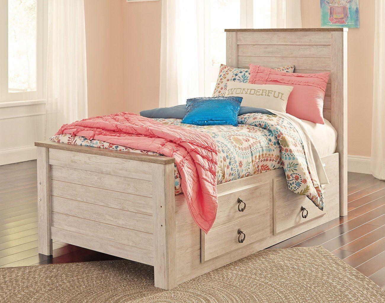 Twin storage bed, Bed storage, Under
