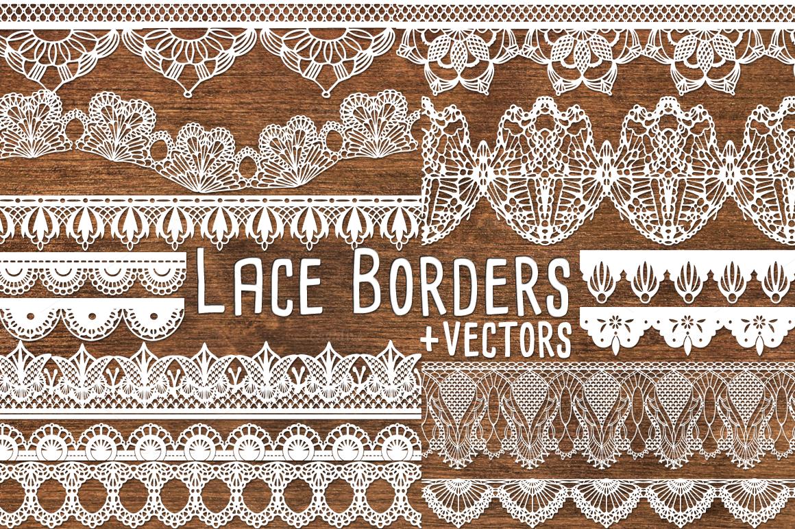 Vector Lace Border Clipart Lace Clip Art Borders Lace Border Clip Art