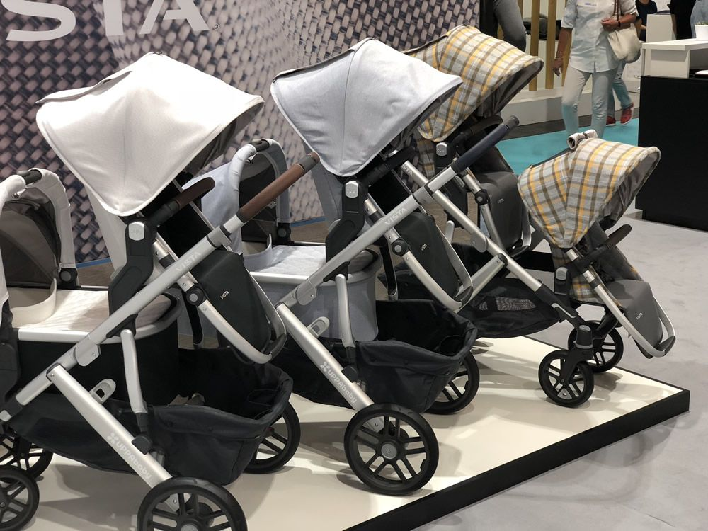 NEW! Boutique Exclusive! 2019 UPPAbaby Vista in William