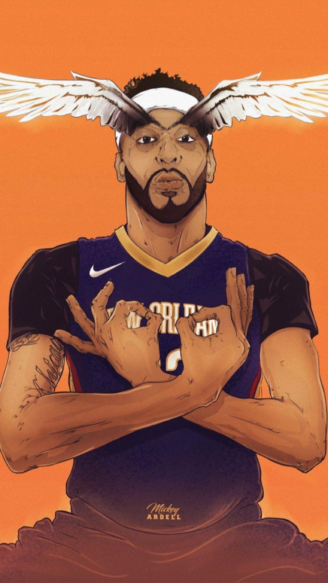 Anthony Davis Wallpaper Anthony Davis Basketball Wallpaper Nba Basketball Art