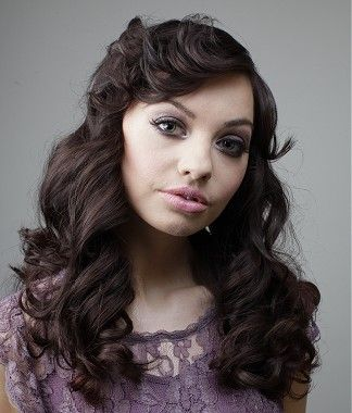 A long brown wavy loose curls hairstyle by L'Oreal