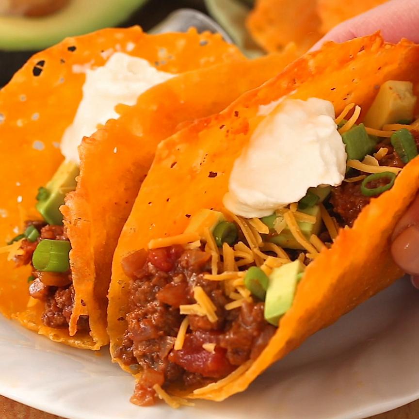 Keto Cheese Taco Shells -   15 keto recipes taco ideas