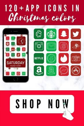 Customize your iPhone with these Christmas apps Icons, and get rid of your boring…