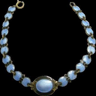 Bernard Meldahl Blue Enamel Bracelet