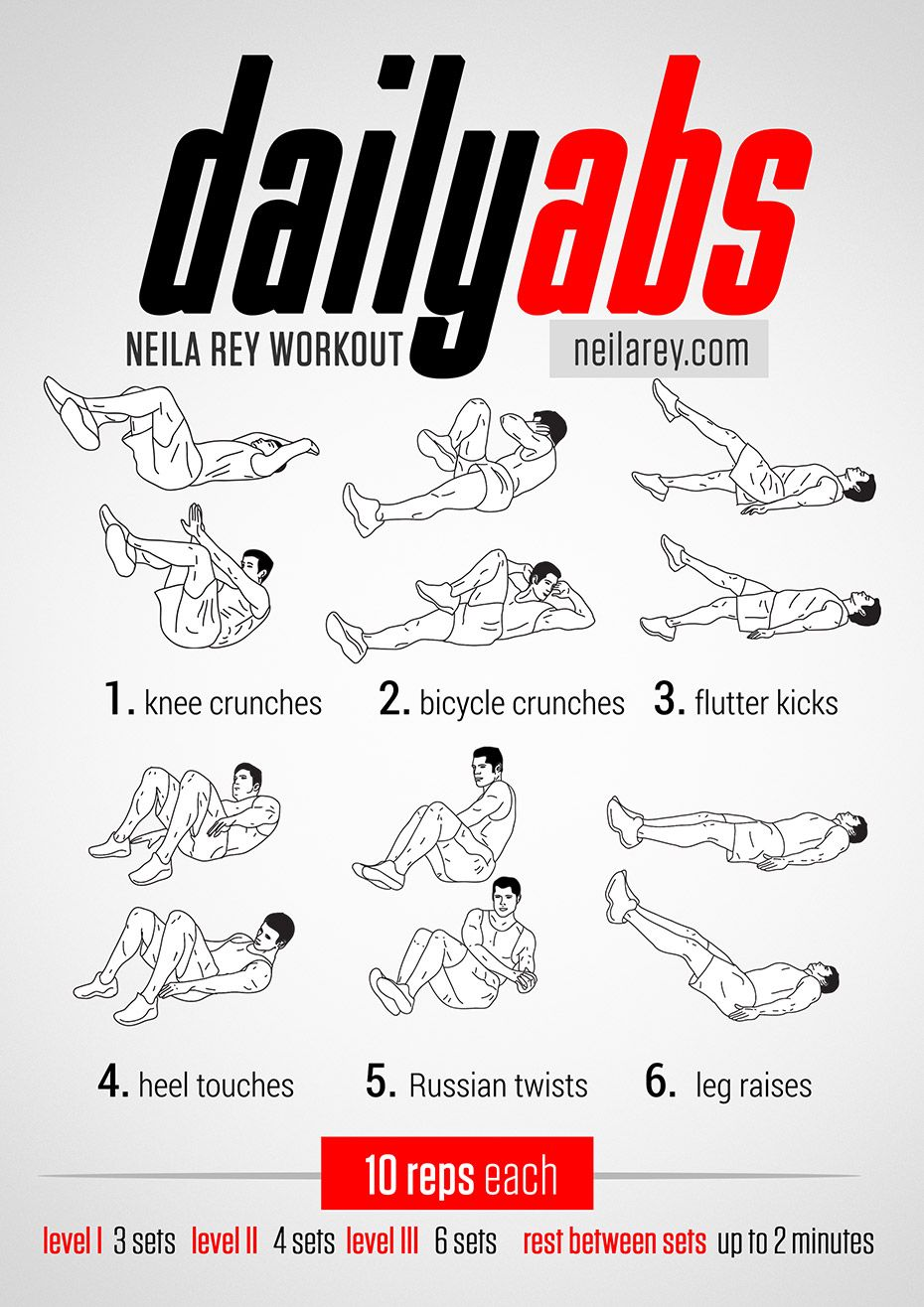 Daily Abs Workout Works Upper Lower And Lateral