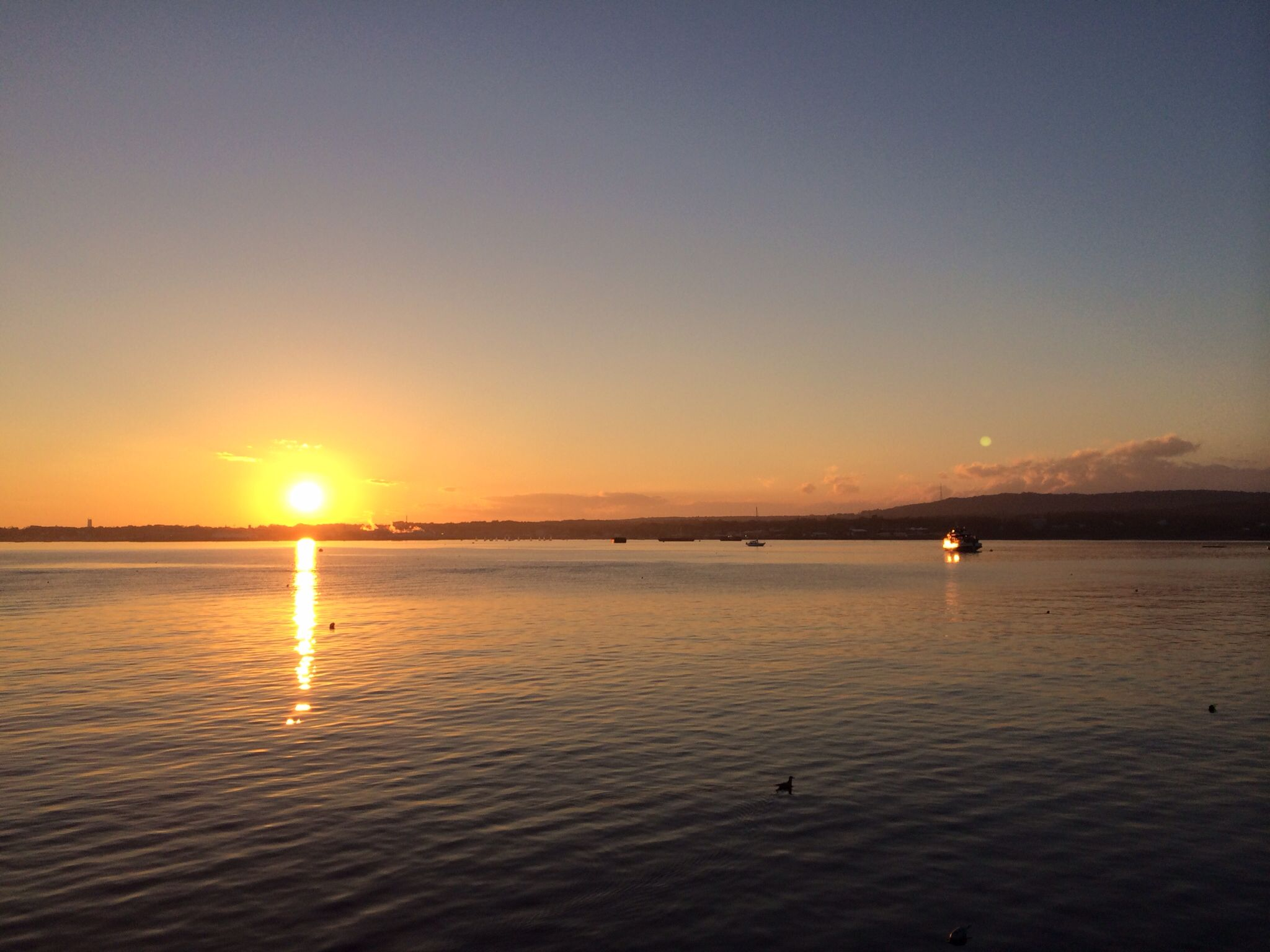 Sunset Rockland Breakwater