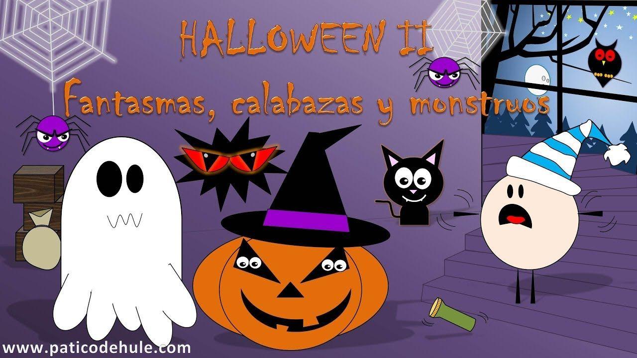 Halloween Para Niños En Español Halloween Niños Halloween Chuches De Halloween