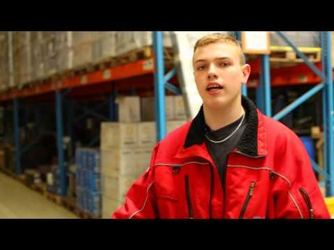 Mike en zijn Transport en Logistiek: Logistiek medewerker (film)