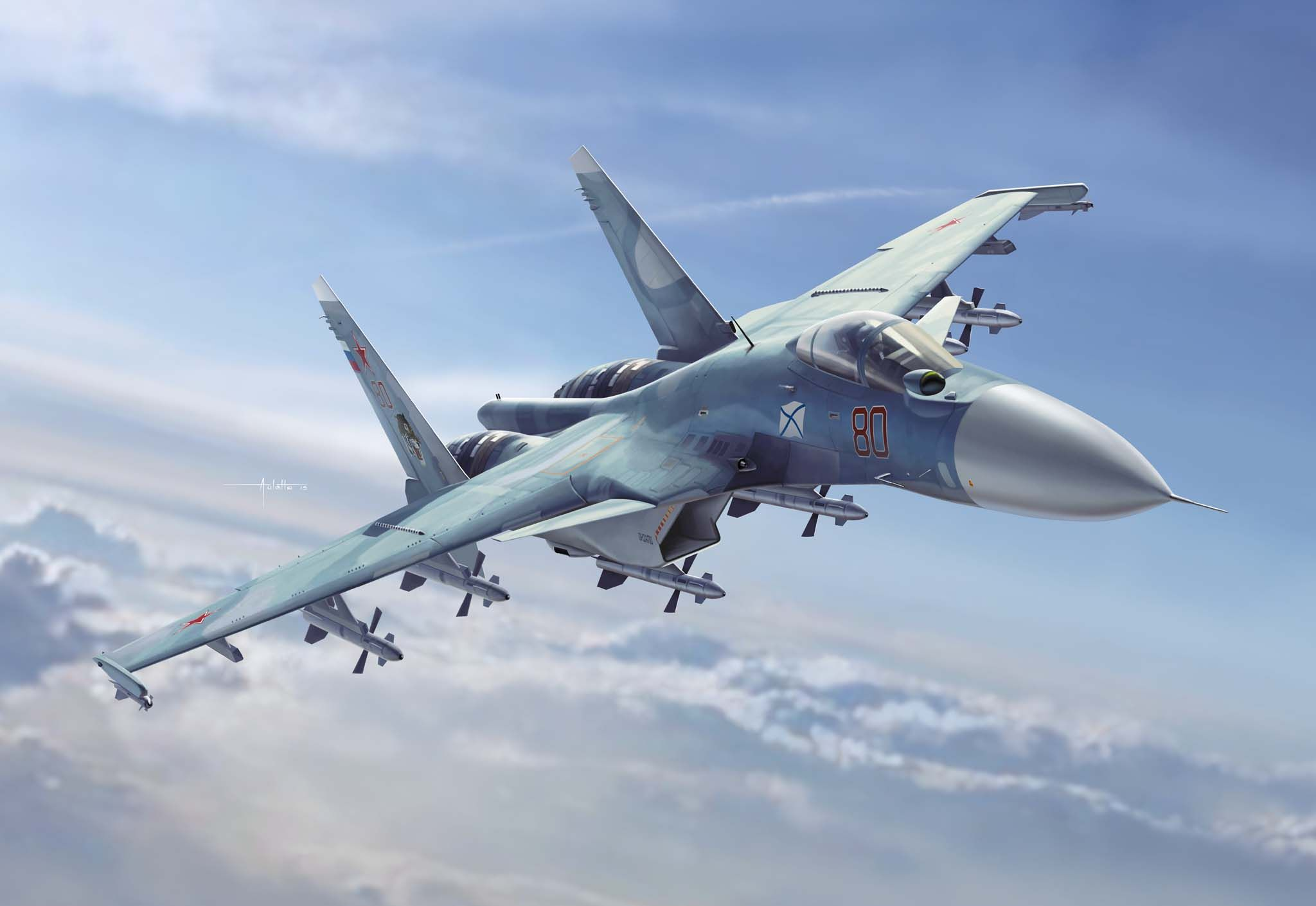 Loading su 33 flanker d carrier based fighter jet su 27 - Military Aircraft Sukhoi Su 33 Flanker D