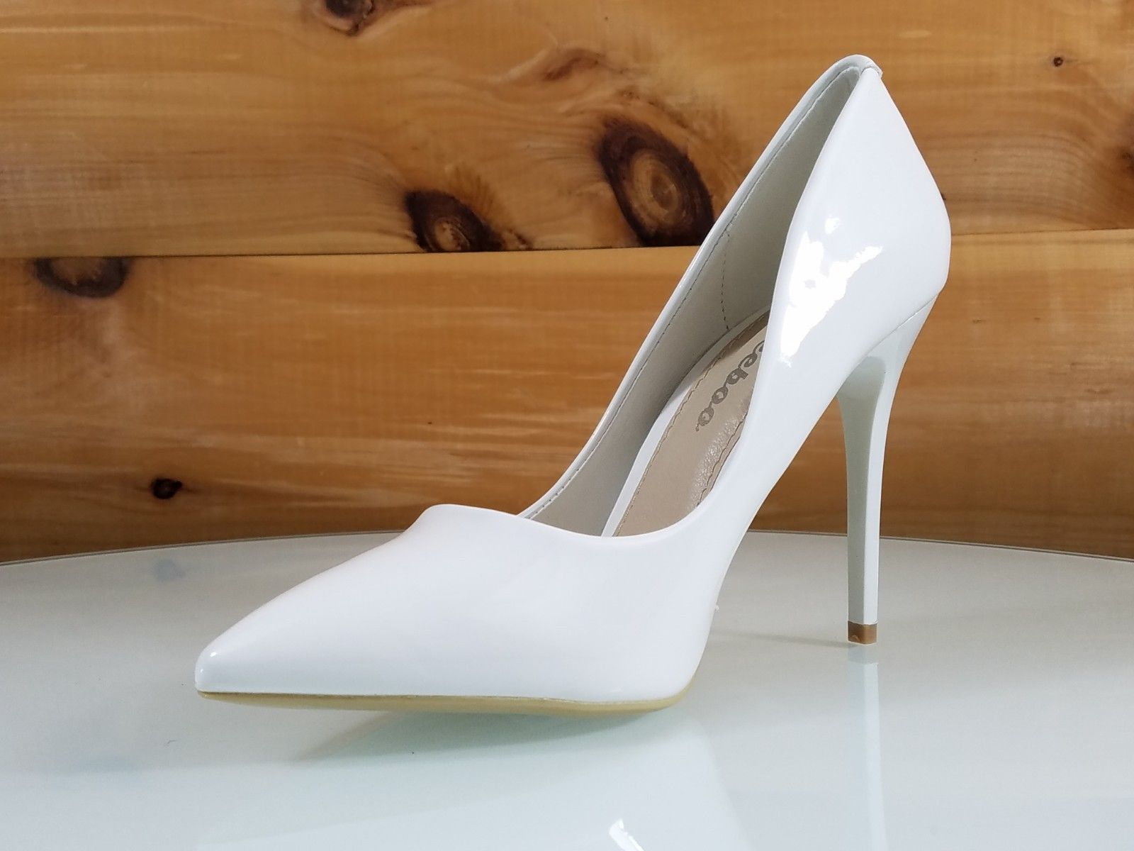 12ef8ea1a26f ... Totally Wicked Footwear. WeeBoo White Patent 4.5