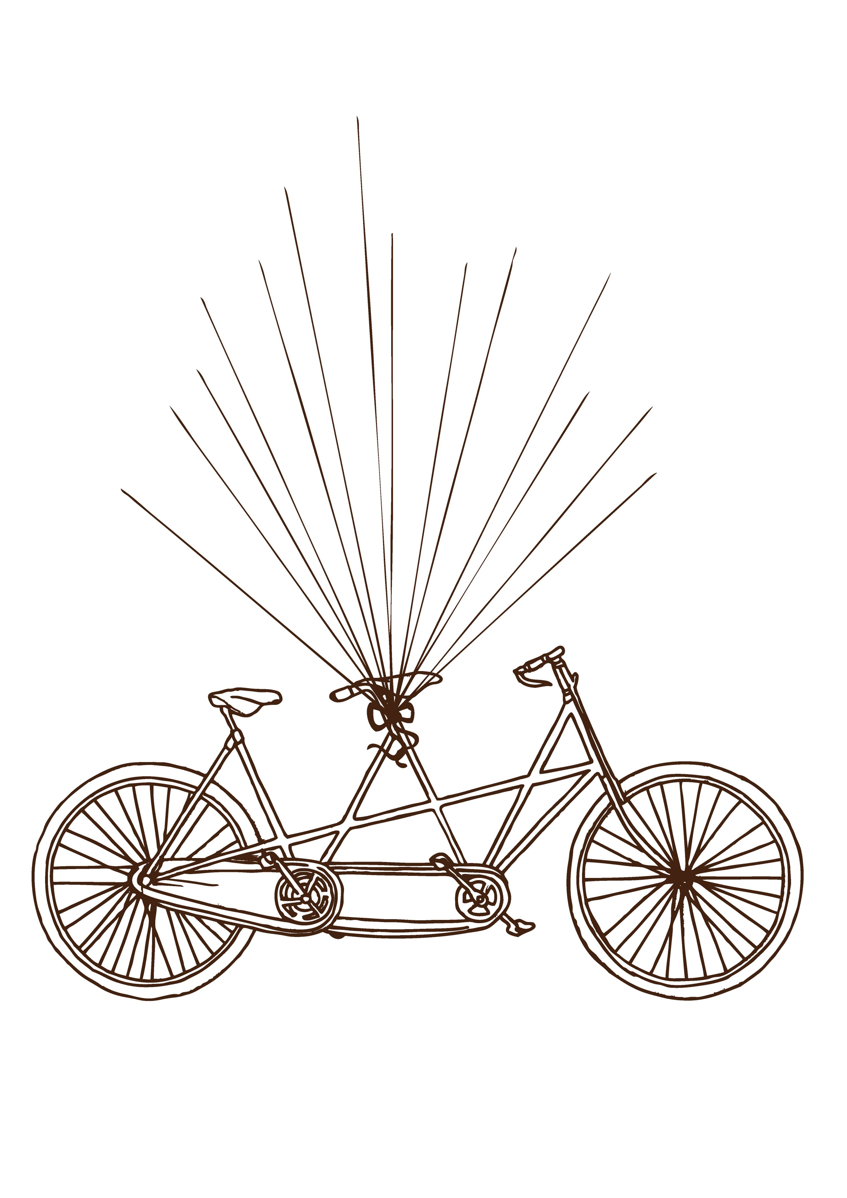 Fotografodebodaenvizcaya Files Wordpress Com 2014 02 Bicicleta Preparada A3 Chocolate Jpg Bisiklet Boyama Boyama Sayfalari Cocuklar Icin Sanat