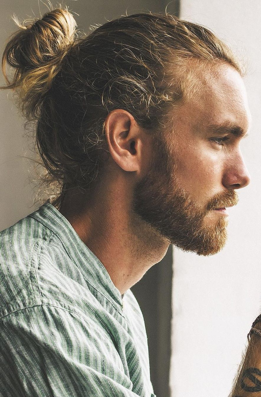 The High Ponytail Hairstyle For Men In 2020 In 2020 Long Hair Styles Men Man Bun Hairstyles Mens Ponytail Hairstyles
