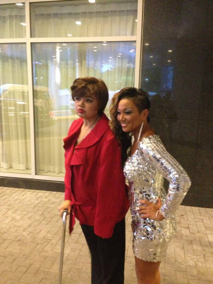 Angela bofill and chante mooreangela is recovering