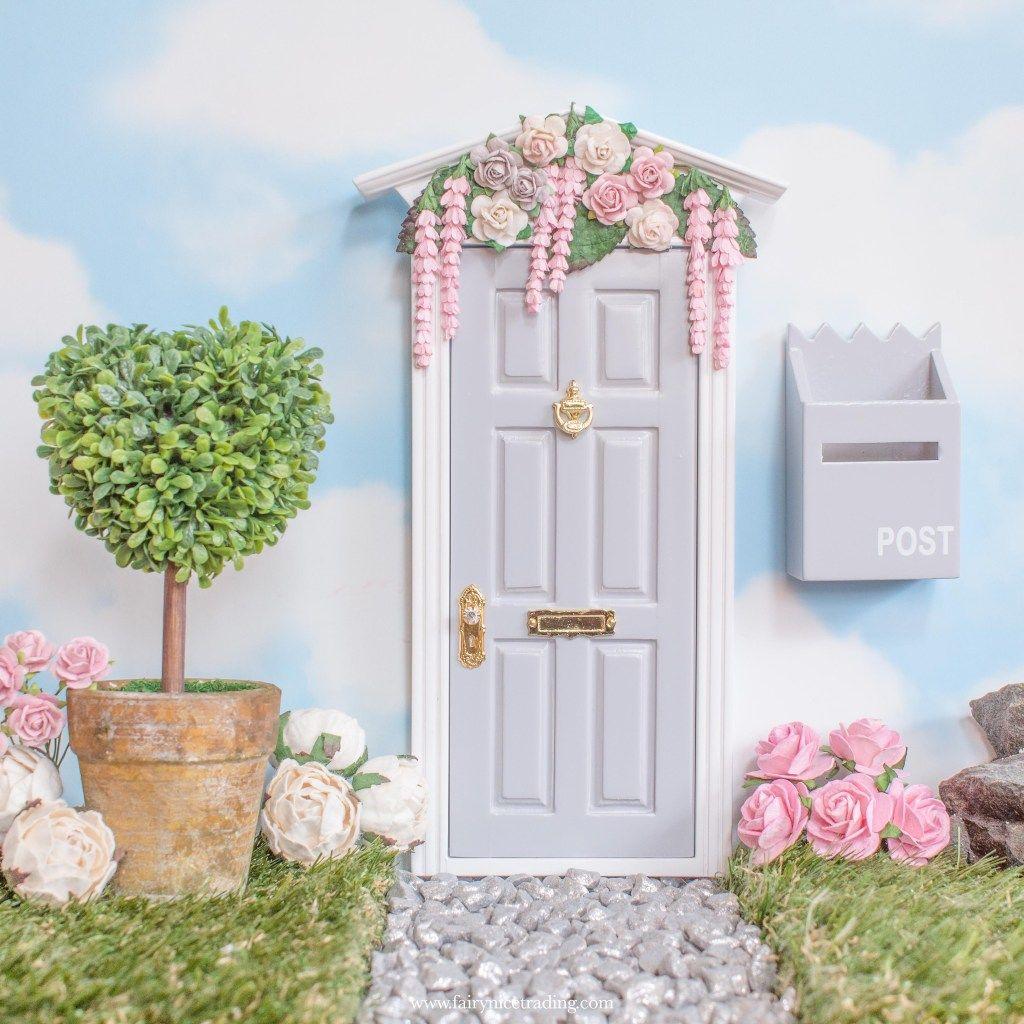 Wisteria Wishes In Grey In 2020 Fairy Door Accessories Fairy Doors Kids Study Desk