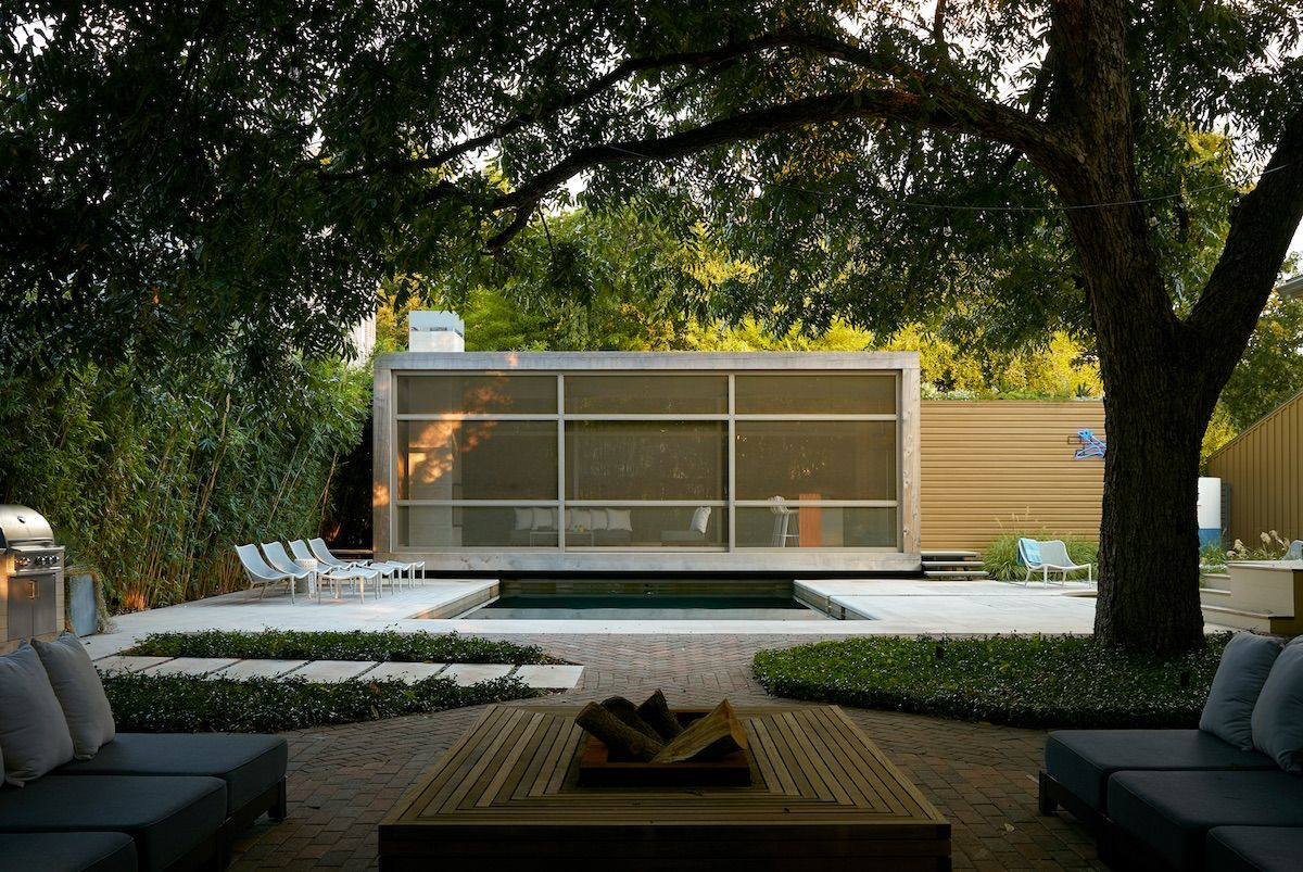 Swimming Pool Of The Week Poteet Architects In San Antonio Texas With Images Outdoor Living Architect Modern Pools
