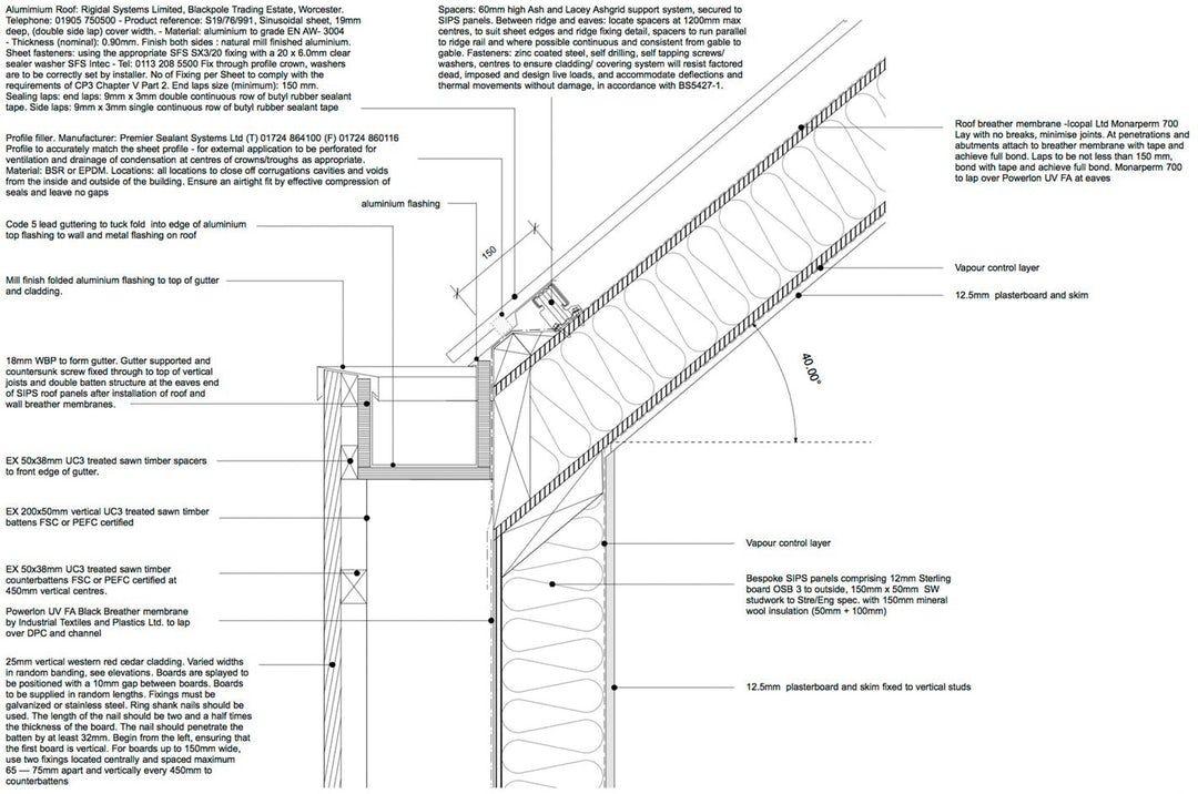 Https Architizer Com Blog Architectural Details Garden Studio Media 2142210 Roof Architecture Solar Panels Roof Roof Detail