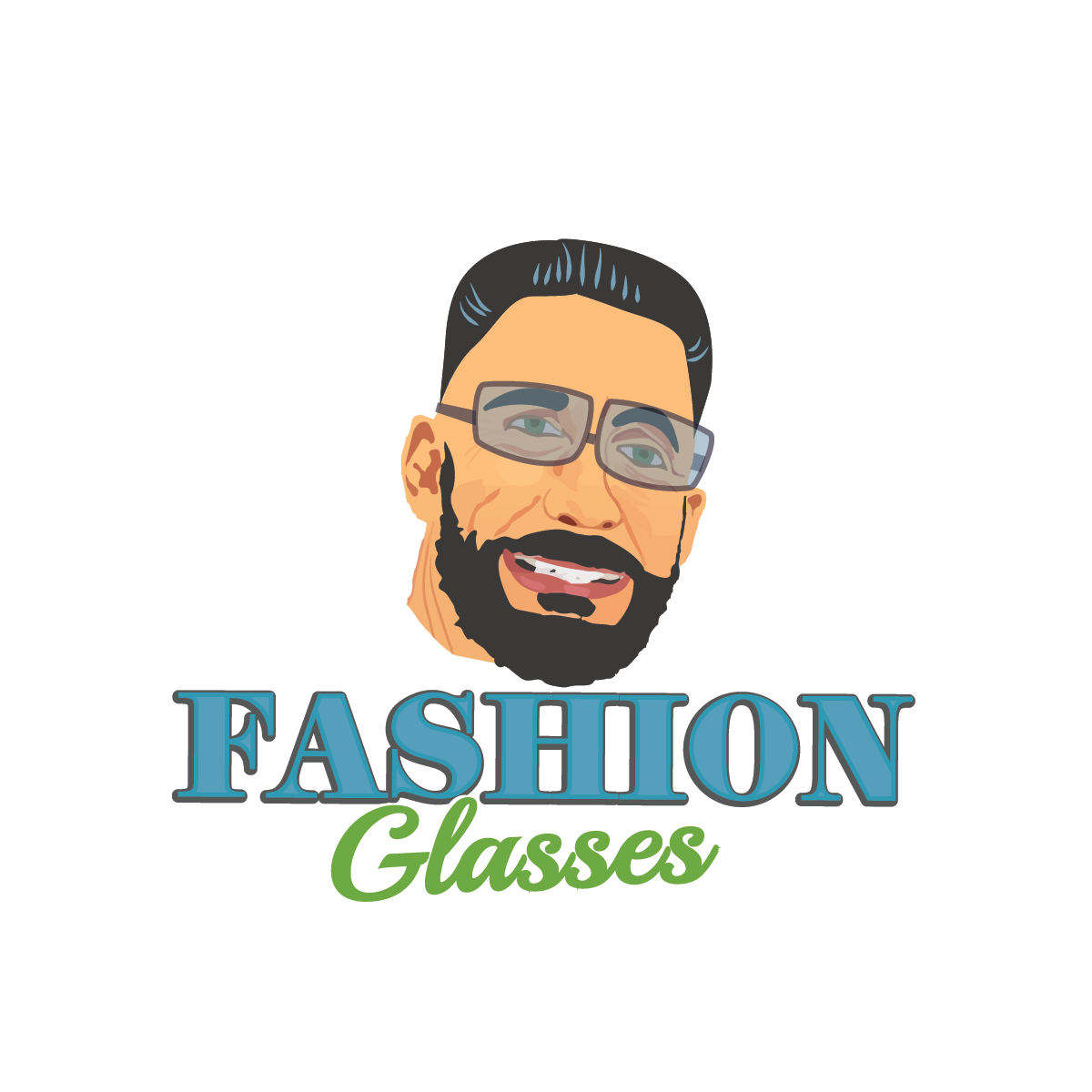 Fashion Glasses Logo Glasses Logo Glasses Fashion Logo Design
