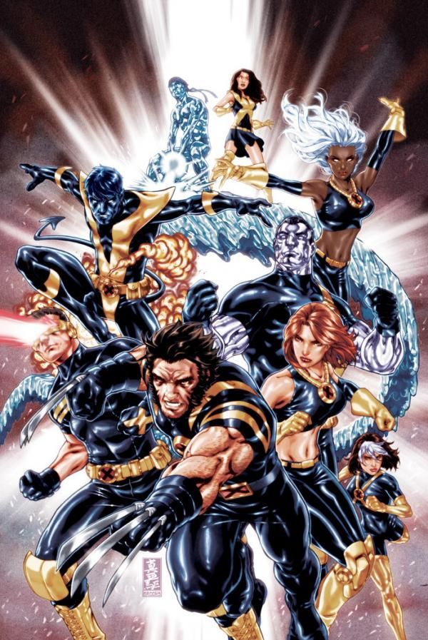 Comic Illustrations by Mark Brooks Ultimate x men cover