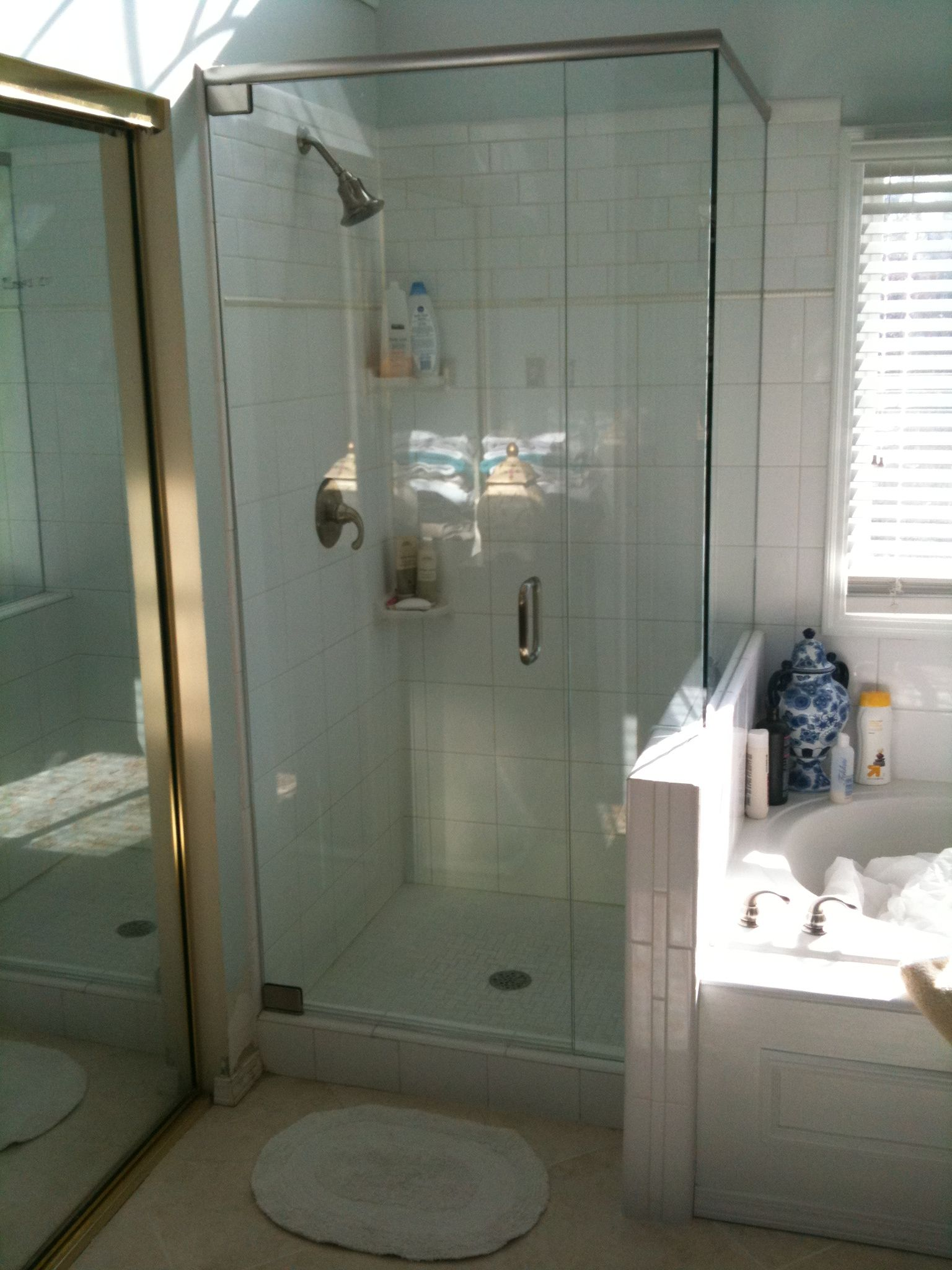 Glass Replacement By Allied Glass And Mirror Cincinnati Ohio - Bathroom shower glass replacement
