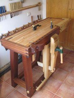 Amazing Compact Bench Hybrid Sliding Deadman Leg Vise Workbench Woodworking Inspiration Diy Woodworking