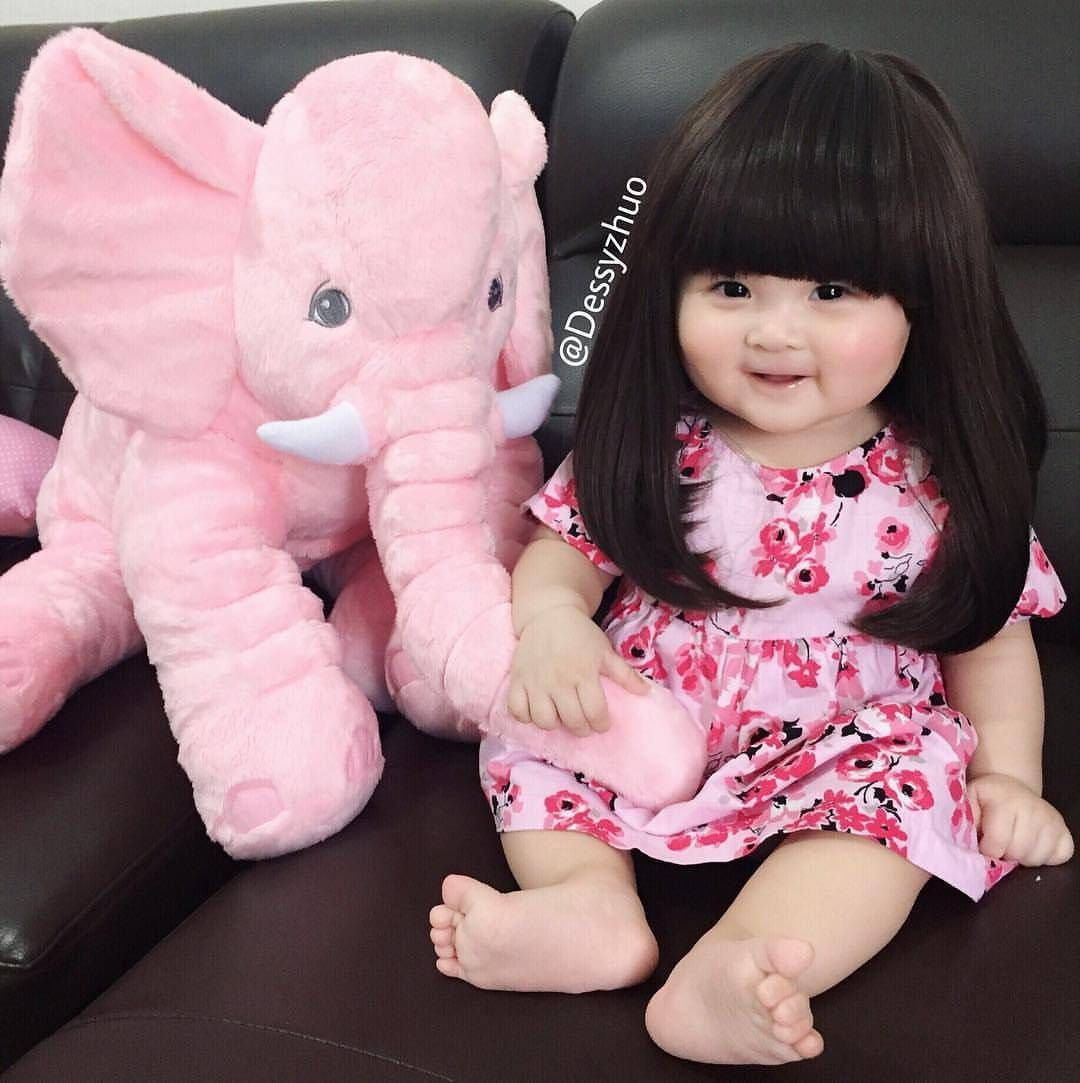 So cute 😍 By @dessyzhuo 👶 #SonIdeas | cute baby girls | Pinterest